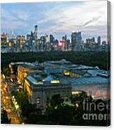 Looking South Nyc Canvas Print