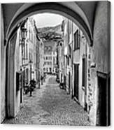 Looking Through Graach Gate Canvas Print
