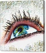 Looking Up Eye Art Canvas Print