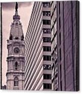 Looking Up In Philadelphia 7 Canvas Print