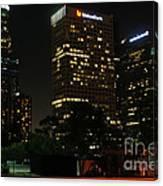 Los Angeles City Canvas Print