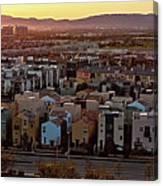 Los Angeles Vista Canvas Print