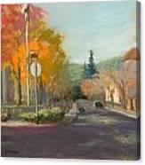 Los Atos Fall Colors Canvas Print