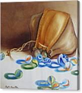 Losing My Marbles II Canvas Print
