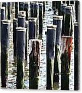 Lost Dock Canvas Print