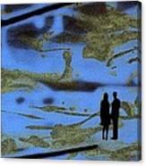 Lost In Translation - Serigrafia Arte Urbano Canvas Print