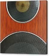 Loudspeaker Canvas Print
