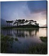 Lough Derryclare, Twelve Bens, Co Canvas Print