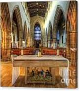 Loughborough Church Altar Canvas Print