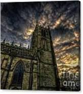 Loughborough Parish Church Canvas Print