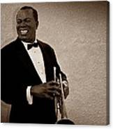 Louis Armstrong S Canvas Print