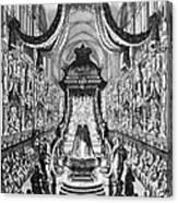 Louis, Duke Of Burgundy Canvas Print