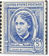 Louisa May Alcott (1832-1888) Canvas Print