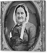 Louisa Van Velsor Whitman 1795-1873 Canvas Print