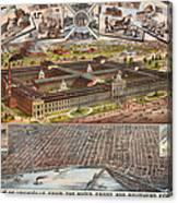 Louisville 1883 Canvas Print