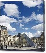 Louvre Museum. Paris Canvas Print
