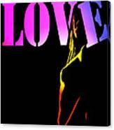 Love And Shadows Canvas Print