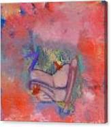 Love On A Cloud Canvas Print