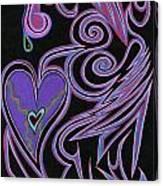 Love So Precious Canvas Print