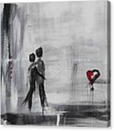 Love Story 1 Canvas Print