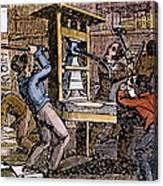 Lovejoys Printing Press Canvas Print