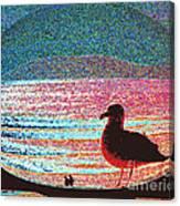 Lovers Beach Canvas Print