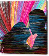 Lovers In Colour No.1 Canvas Print