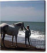 Love's Touch Canvas Print