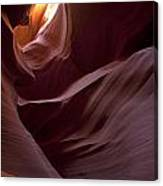 Lower Antelope Eleven Am On The Dot Canvas Print