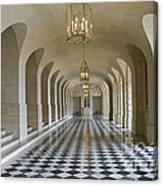 Lower Gallery Versailles Palace Canvas Print