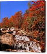 Lower Graveyard Falls Canvas Print