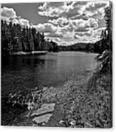 Lower Madawaska River Canvas Print
