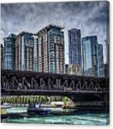 Lsd Lake Shore Drive In Color Canvas Print