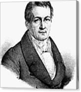 Ludwig Tieck (1773-1853) Canvas Print