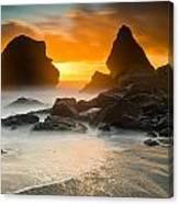 Luffenholtz Winter Sunset 1 Canvas Print