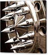 Lug Nuts Canvas Print