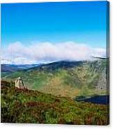 Luggala And Lough Tay, Co Wicklow Canvas Print