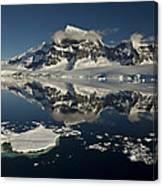 Luigi Peak Wiencke Island Antarctic Canvas Print