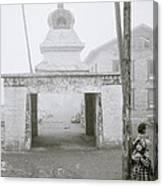 Lukla In The Himalaya Canvas Print
