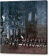 Luks - Blue Devils 1918 Canvas Print