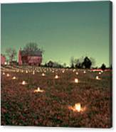Luminaries In The Pasture 11 Canvas Print