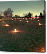 Luminaries In The Pasture 2 - 11 Canvas Print