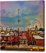 Luna Park-a-rama Canvas Print