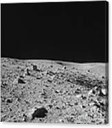 Lunar Surface Canvas Print