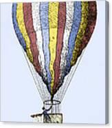 Lunardi's Balloon, 1784 Canvas Print