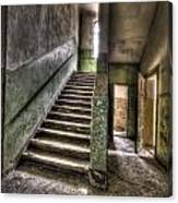 Lunatic Stairs Canvas Print