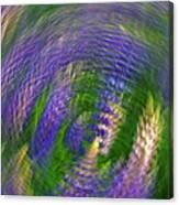 Lupine Swirl Canvas Print