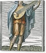 Lute, 1723 Canvas Print