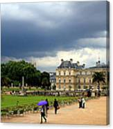 Luxembourg Gardens 2 Canvas Print