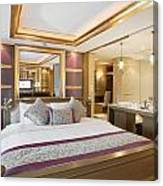 Luxury Bedroom Canvas Print